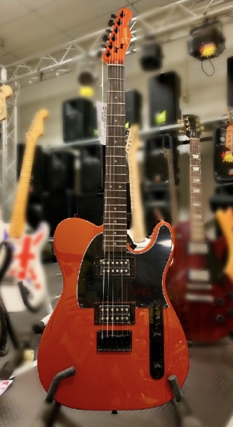 FSR Affinity Telecaster HH  , Metallic Orange with Matching Headstock